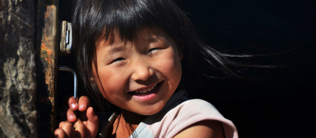 Mongolian girl, Ulan Bator