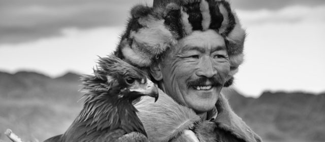 Kazakh eaglehunter in Western Mongolia
