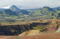 Iceland – view on the Laugavegur trekking