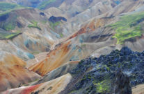 Iceland – spectacular colours in Landmannalaugur