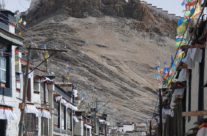 The old city of Gyantse, Tibet