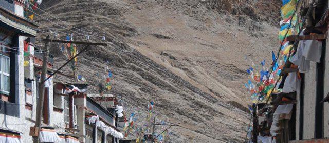 The old city of Gyantse, Tibet
