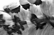 Dancers-musicians from Mali, Taragalte festival (Marokko)