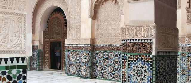 De Medresa Ben Youssef, Marrakech (Marokko)
