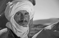 Encounter with a proud Tuareg, Marokko