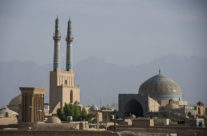 Yazd, fridaymosque (Iran)