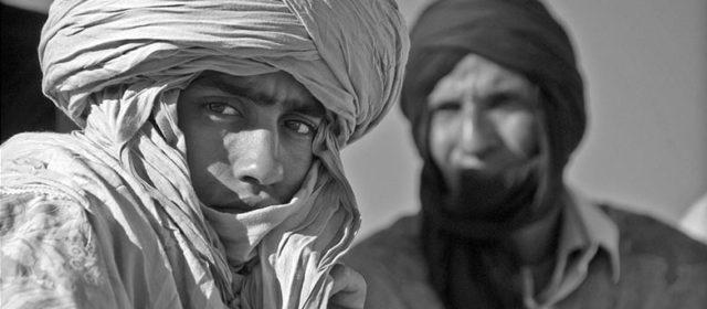 A young proud Touareg, Marokko