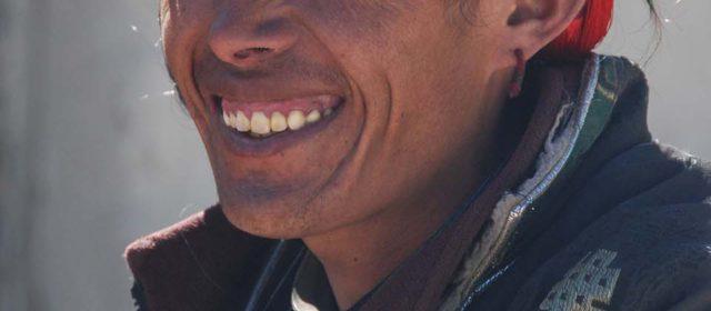 A kampa man in Tibet