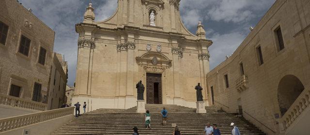 The kathedral in Medina, Malta
