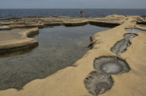 Saltpans on Gozo