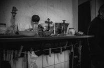 the fireplace shelf