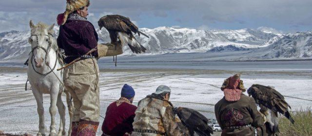 Golden eagle festival Olgii, Mongolia