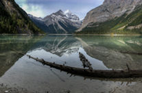 Kinney Lake, Mount Robson