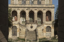 Old villa in Rabbat on Malta