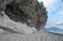 Caves at Cala Ganone, Sardinia