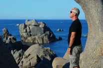 Rock formations at the North Coast, Sardinia