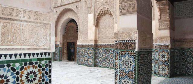 De Medresa Ben Youssef, Marrakech