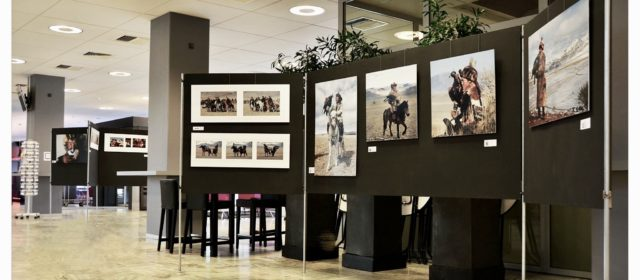 Solo exposition MONGOLIA, townhall Helmond, The Netherlands